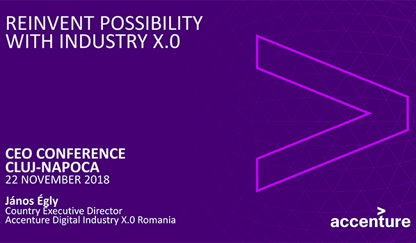 Reinvent Possibility With Industry X.0